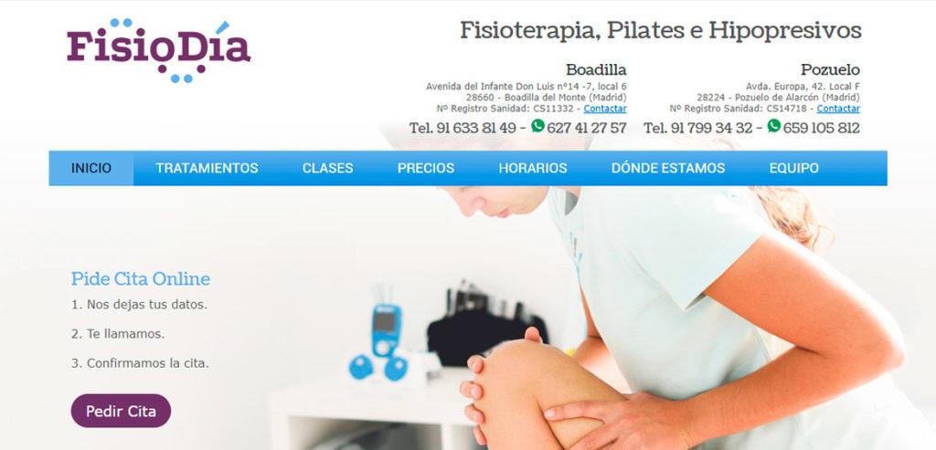 Web FisioDía