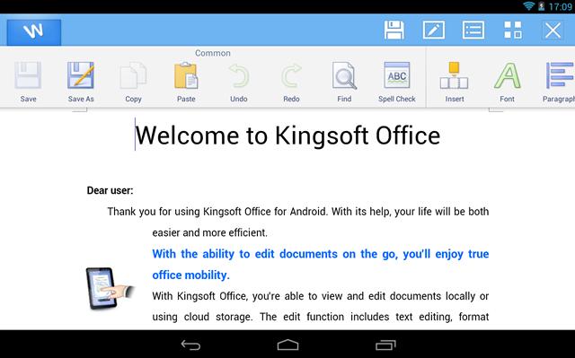 kingsoft-app-escribir