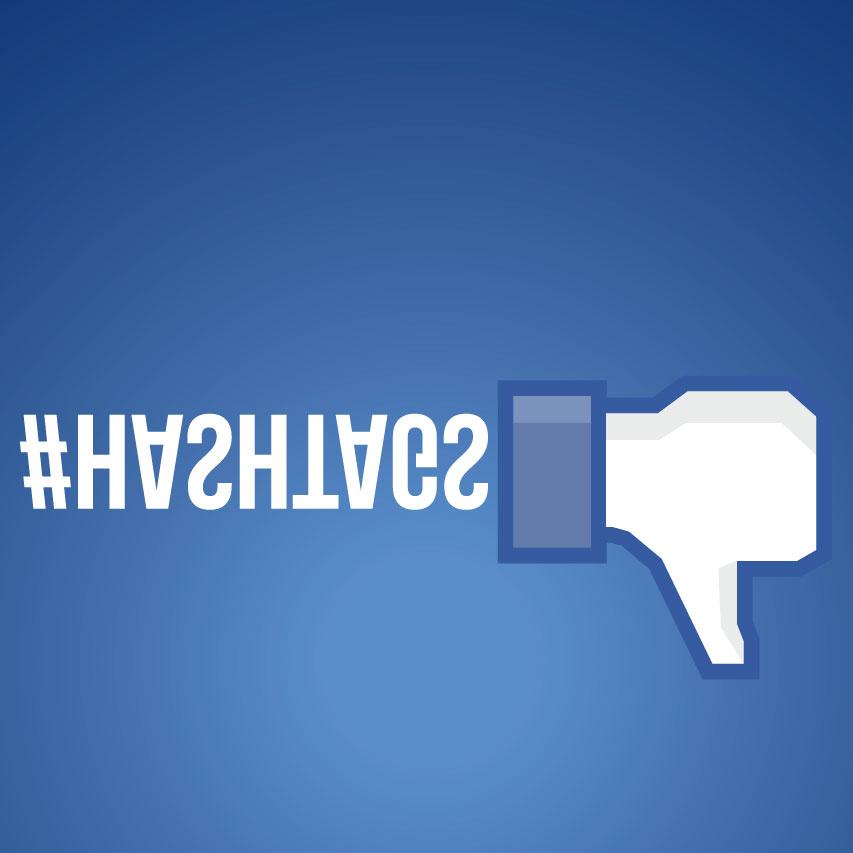 Los hashtags no se usan en Facebook